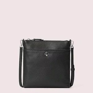 Kate Spade Black Swing Crossbody Bag